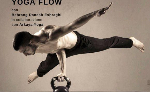 WORKSHOP | VINYASA YOGA FLOW & WORKSHOP con Behrang Danesh  Eshragh